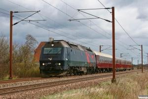 DSB ME 1523+B 2000+S 001+WRm 603 som EP 8333 Kh-Ar. Marslev 31.03.2012.
