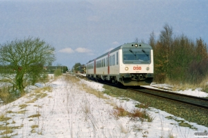 DSB MR/D 77 som RV 2834 Od-Svg. Højby 24.03.2001.