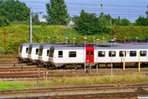 DSB MR/D 39, MR/D 90, MR/D 75 og MR/D 80. Fredericia 18.08.2001.