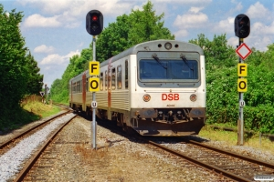 DSB MR/D 44 som RV 5039 Re-Od. Højby 12.07.2002.