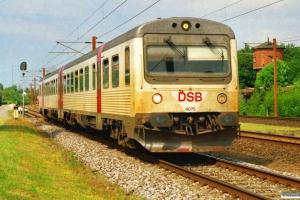 DSB MR/D 75 som RV 3338 Fa-Es. Lunderskov 12.06.2007.