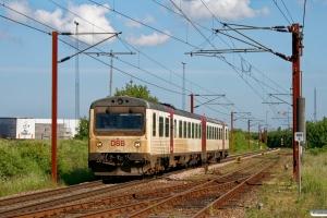 DSB MR/D 52 som RV 2321 Fa-Pa. Padborg 23.05.2008.