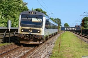 DSB MR/D 89 som RV 19757 Od-Md. Skalbjerg 05.07.2013.