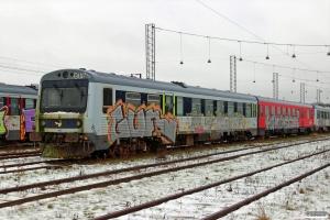 DSB MR/D 57 hensat. Fredericia 10.01.2016.