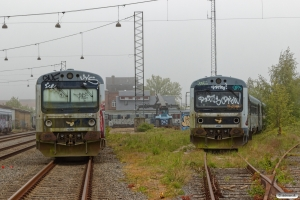 DSB MR/D 98, MR/D 58 og MR 4019. Fredericia 18.05.2019.