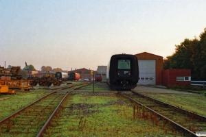 DSB ER 20 på Scandia. Randers 12.10.1995.