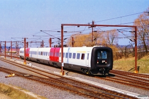 DSB ER 19. Nyborg 16.04.1996.