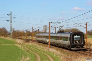DSB ER 24 som RV 2763 Od-Fa. Km 170,0 Kh (Holmstrup-Tommerup) 28.04.2013.
