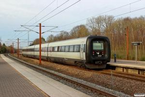 DSB ER 12 som M 7054 Lk-Fa. Lunderskov 24.03.2017.