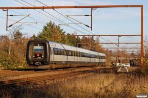DSB ER 13 som RV 2737 Od-Fa. Km 162,2 Kh (Odense-Holmstrup) 25.11.2017.