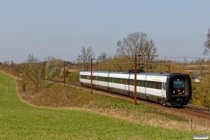 DSB ER 39 som RV 3826 Fa-Od. Km 166,2 Kh (Odense-Holmstrup) 20.04.2018.