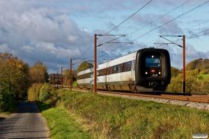 DSB ER 20 som RV 3826 Fa-Od. Km 173,6 Kh (Holmstrup-Tommerup) 20.10.2018.