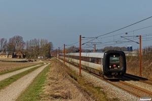 DSB ER 24+MF 67+MF 60 som L 44 Ar-Od. Km 193,0 Kh (Gelsted-Ejby) 30.03.2019.
