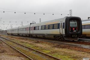 DSB ER 06 efter havari i sydrøret på Storebælt den 27/2. Odense 29.02.2020.