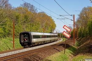 DSB ER 30 som RV 3849 Od-Fa. Km 165,6 Kh (Odense-Holmstrup) 25.04.2020.