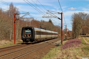 DSB ER 24 som L 943 Fa-Sdb. Km 14,4 Fa (Taulov-Kolding) 03.04.2021.