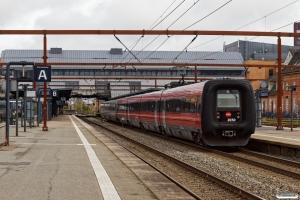 DSB MF 17+ER 30 som IC 140 Ab-Kh. Odense 05.05.2021.