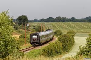 DSB ER 25 som L 930 Sdb-Fa. Km 20,8 Sdb (Gråsten-Kliplev) 26.06.2021.