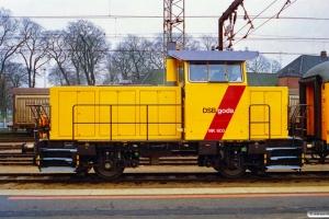DSB MK 603. Odense 01.12.1996.