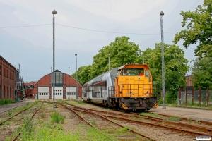 DSB MK 625. København Cvk 18.06.2011.