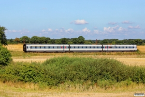 DSB MF 83 som IC 5720 Pa-Fa. Km 45,0 Fa (Farris-Sommersted) 06.08.2014.