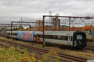 DSB MF 51 henstillet i spor 6 Vest. Odense 22.10.2016.