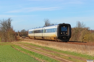 DSB MF 27 som RV 3730 Str-Fa. Km 4,4 Fa (Fredericia-Børkop) 24.03.2017.