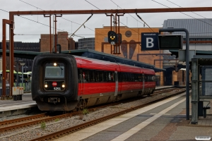 DSB MF 51 som RV 2849 Od-Svg. Odense 04.01.2019.
