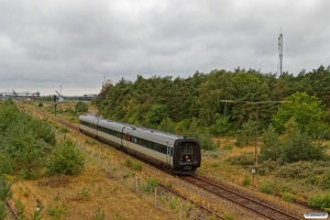 DSB MF 86 som EC 232 Nf-Rf. Rødby Færge 15.08.2019.