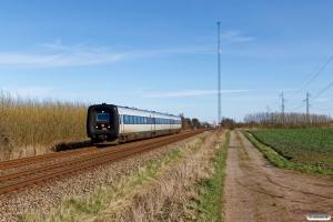 DSB MF 33 som RV 3743 Fa-Str. Km 4,4 Fa (Fredericia-Børkop) 14.03.2020.