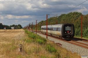 DSB MF 18 som L 951 Fa-Sdb. Km 57,4 Fa (Sommersted-Vojens) 19.08.2020.
