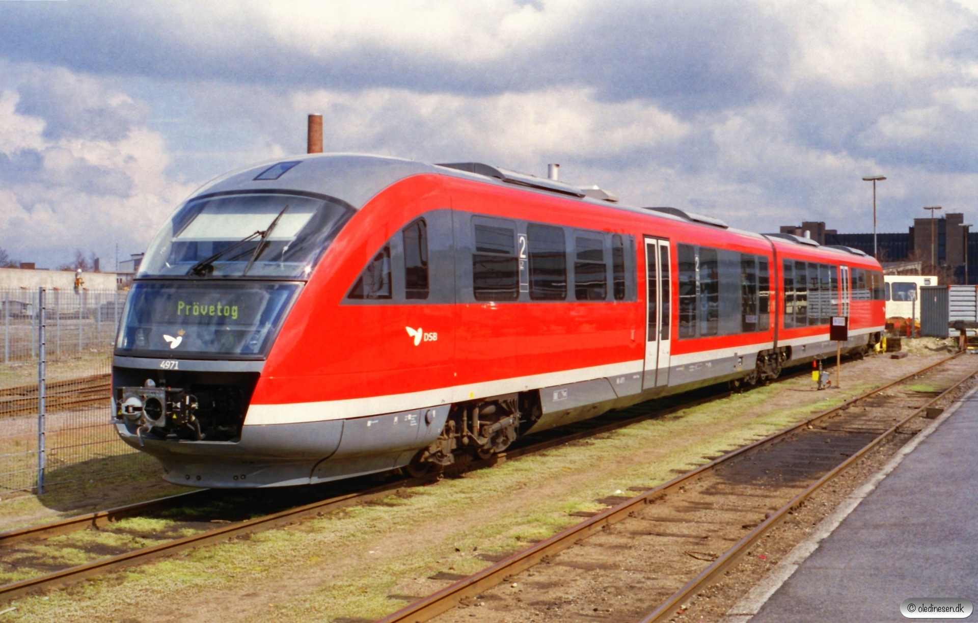 DSB MQ 51. Odense 20.04.2001.