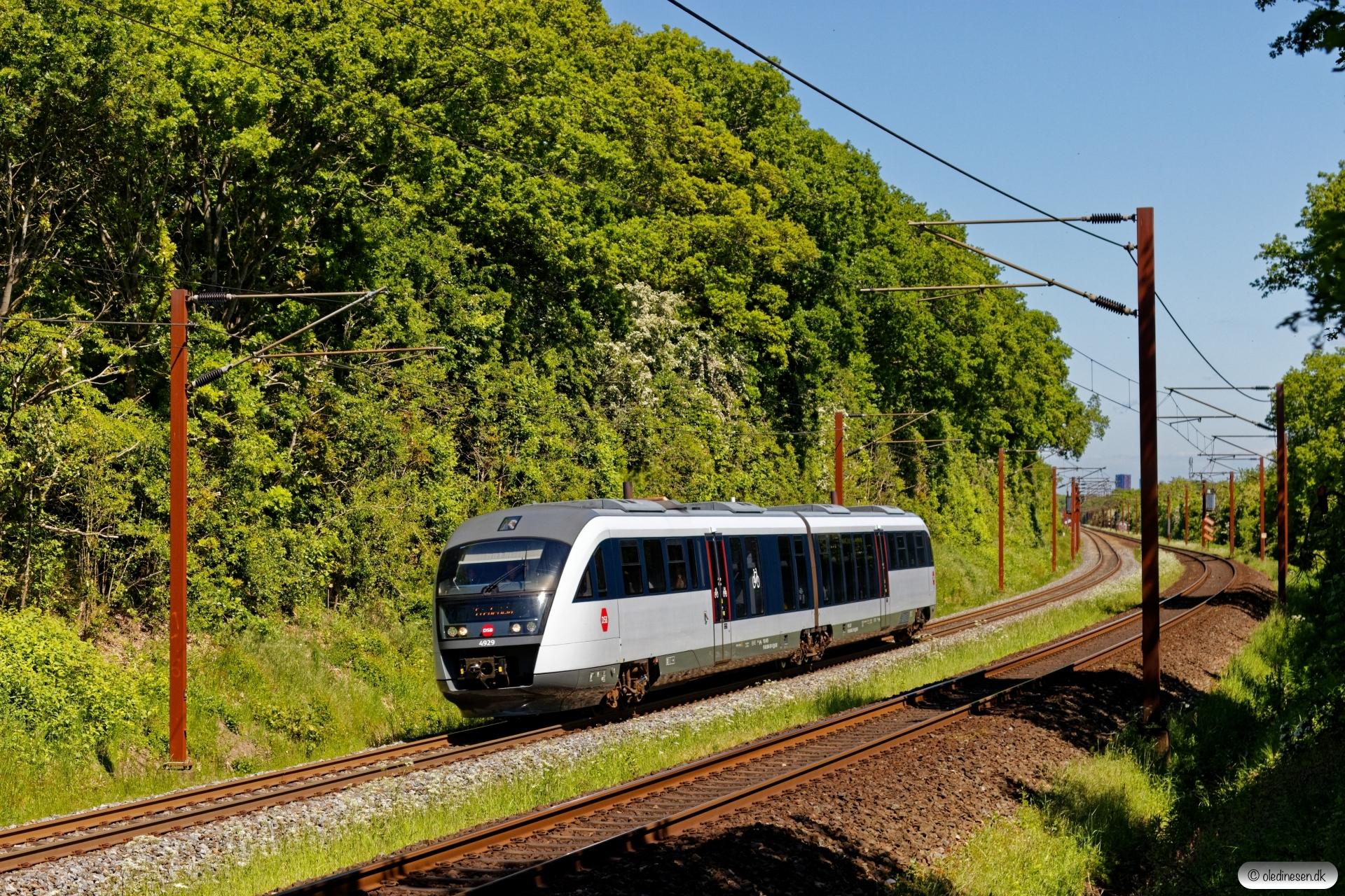 DSB MQ 29 som RV 2745 Od-Fa. Km 165,6 Kh (Odense-Holmstrup) 30.05.2020.