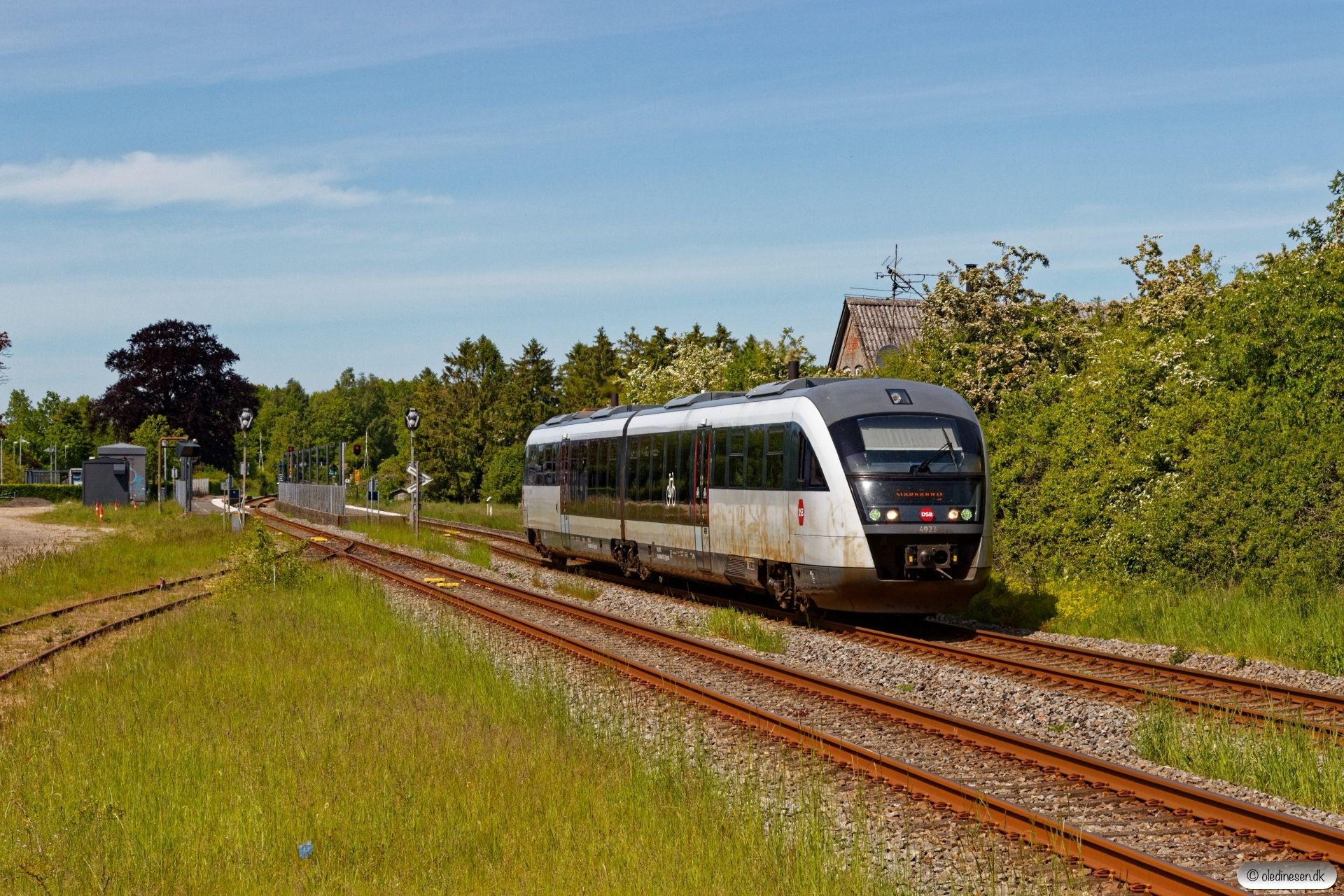 DSB MQ 23 som RV 4645 Od-Svg. Stenstrup 31.05.2020.