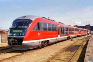 DSB MQ 53 og MQ 51. Odense 21.04.2001.