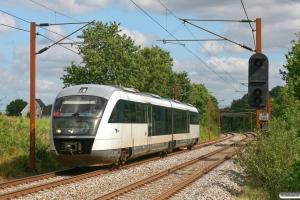 DSB MQ 17 som RV 2745 Od-Fa. Km 173,2 Kh (Holmstrup-Tommerup) 27.08.2012.