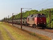 DBCSC MZ 1452 med G 8001 Lk-Pa. Km 57,4 Fa (Sommersted-Vojens) 07.06.2021.