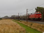 DBCSC MZ 1449 med GM 98068 Hr-Pa. Km 54,2 Fa (Sommersted-Vojens) 16.08.2021.