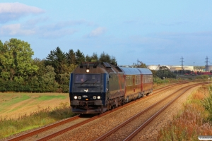 DSB ME 1524+S 001+WRm 603 som M 8149 Kh-Ab. Km 4,2 Fa (Fredericia-Børkop) 27.09.2014.
