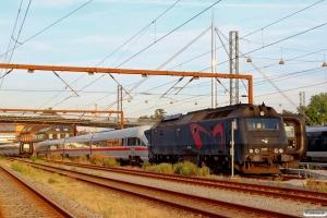 DSB ME 1533+DB 605 511-4+211-1+111-3+011-5 som M 6175 Od-Pa. Odense 29.08.2015.