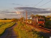 DSB ME 1515 med RØ 4877 Kj-Nf. Holme-Olstrup 14.05.2020.