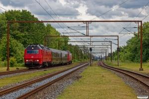 DSB ME 1536+S 001+WRm 603+ME 1508 som M 6459 Gb-Hb. Kauslunde 07.06.2020.