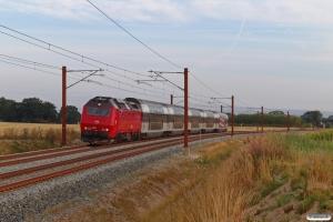 DSB ME 1503 med RØ 74821 Kk-Næ. Km 85,4 Kh (Glumsø-Næstved) 24.08.2021.