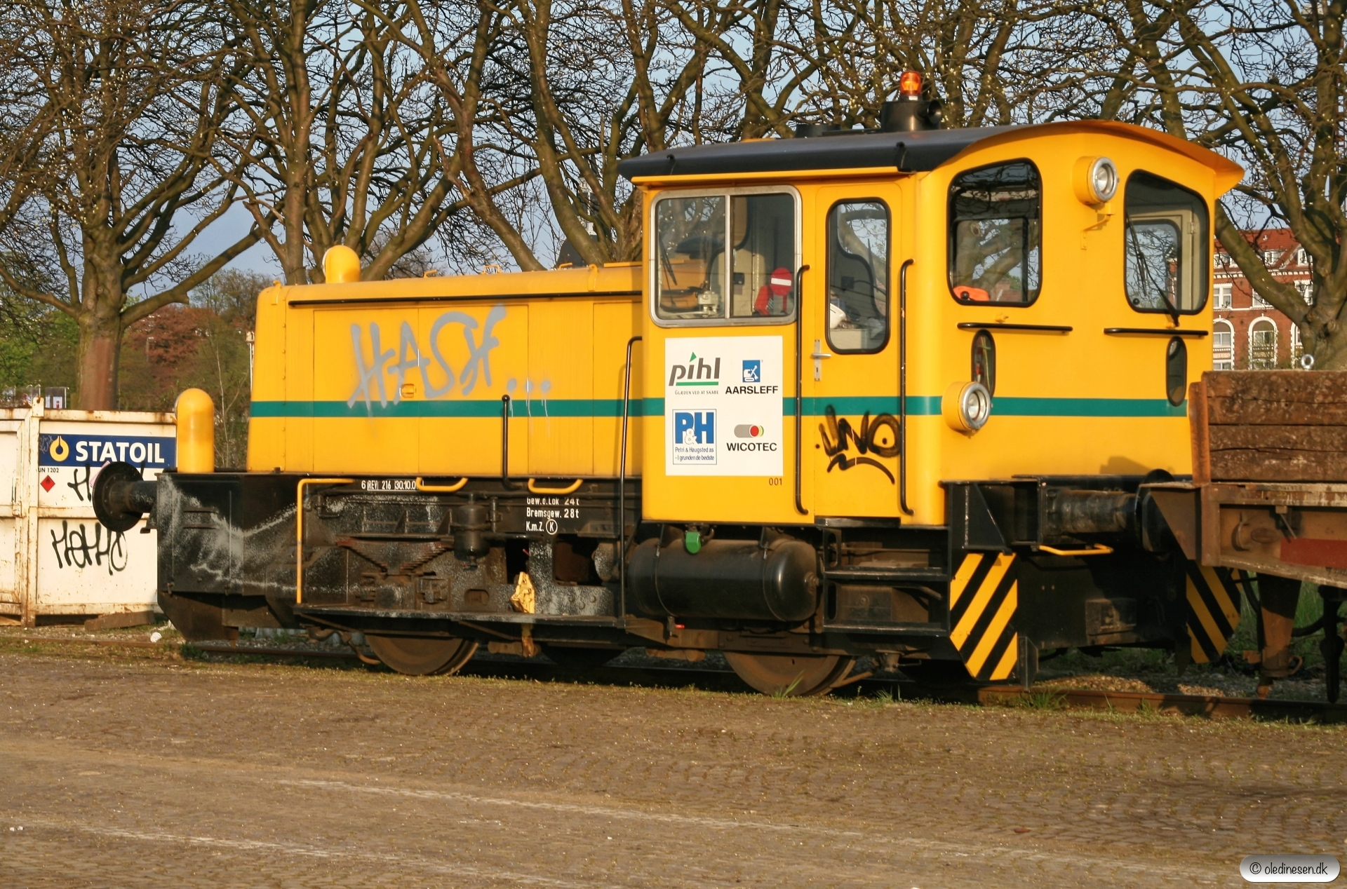 ARAIL Køf 001. Odense 23.04.2009.