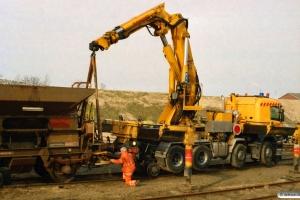 BDK Fccs 40 86 946 0 837-8 afsporet og hjælpevognen. Odense 23.03.2007.