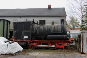 GE Dampfspeicherlok (O&K 1911/4959). Geesthacht 27.04.2013.