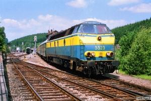 SNCB 5523. Troisvierges 12.07.1989.