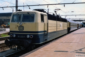 DB 181 222-1. Luxemburg 12.07.1989.