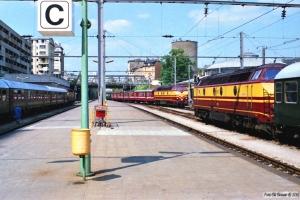 CFL 1806, 1805 og 1820. Luxemburg 12.07.1989.