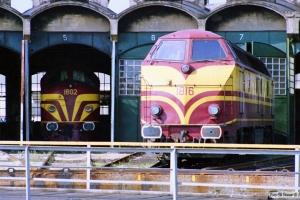 CFL 1602 og 1816. Luxemburg 12.07.1989.